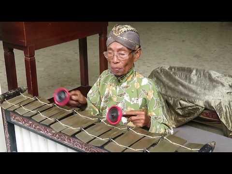 Traditional Balinese music instrument gamelan