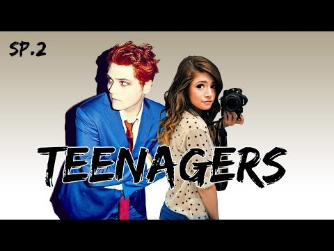My Chemical Romance - Teenagers  (ft. Against The Current) (lyrics video)  Birthday special 2/2