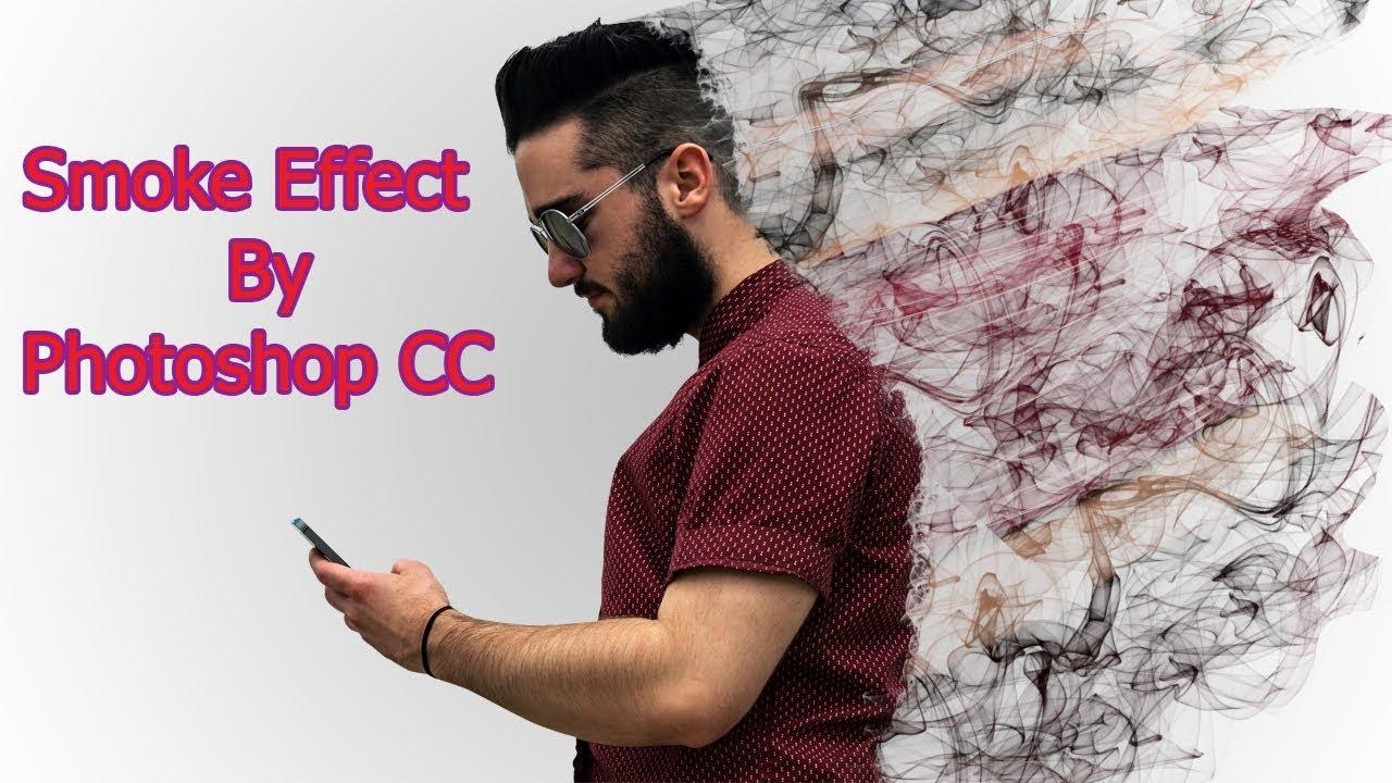Smoke Dispersion Effect | Photo Effect | Photoshop CC tutorial