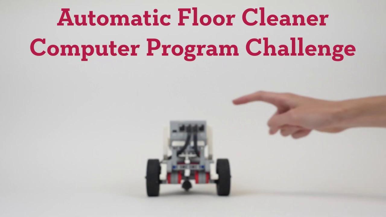 Automatic Floor Cleaner Computer Program Challenge - Activity