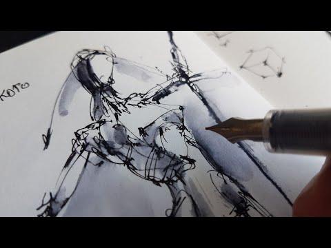 Скетчбук. Как нарисовать человека-мой способ. Как рисовать скетчи. Обзор скетчбука Эдуард Кичигин