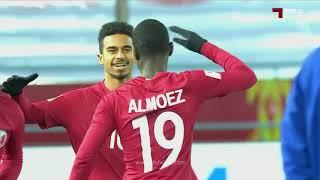 هدف المعز علي | قطر 1 - 0 أوزبكستان |  كأس آسيا تحت 23 سنة
