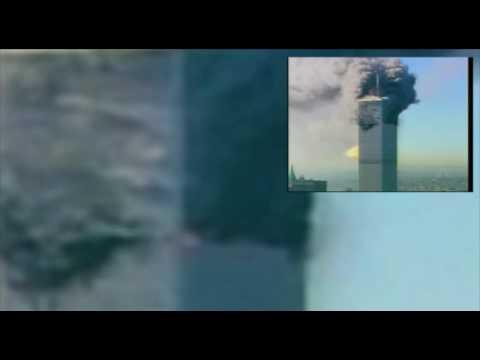 911 Second Impact (Flight 175) Chopper 7 Enlargement - YouTube
