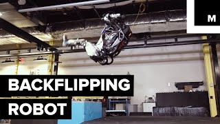 Boston Dynamics Robot Can Now Nail A Backflip