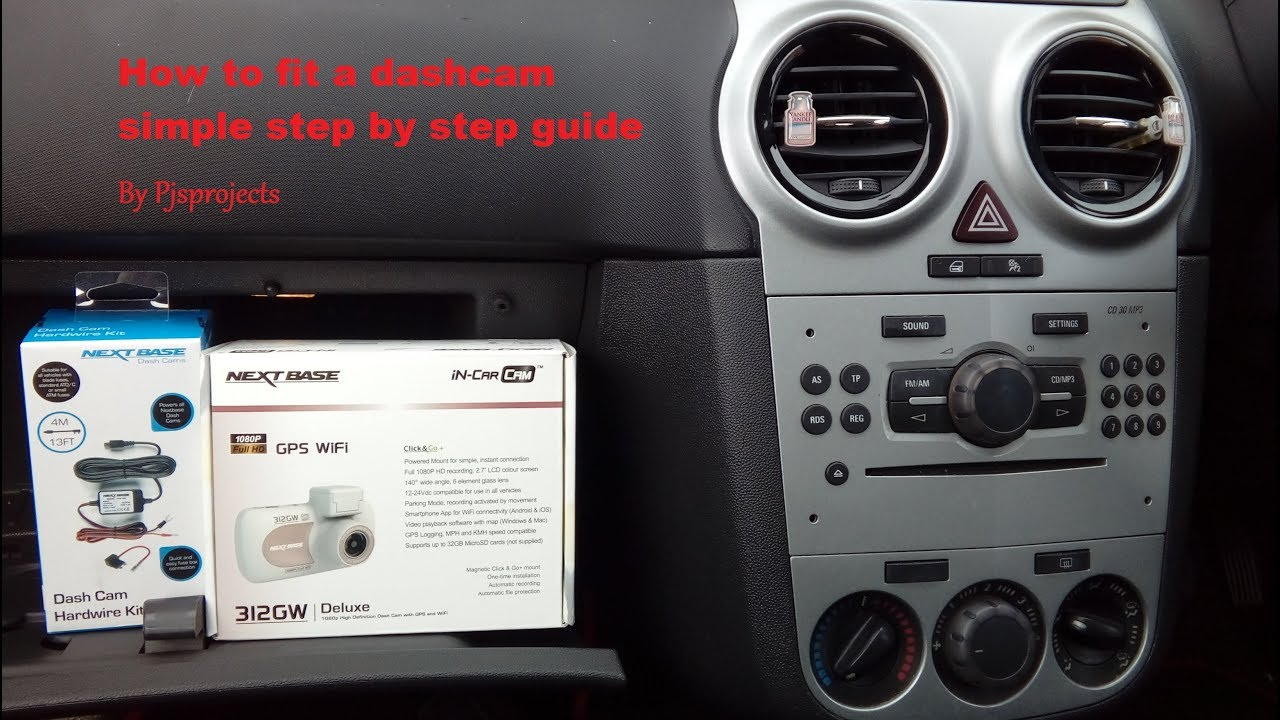 corsa 2006 2014 how to fit a dash cam to the fuse box simple step by step guide [ 1280 x 720 Pixel ]