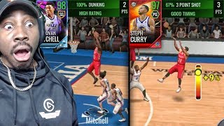 NEW H2H SHOWDOWN GAME MODE w/98 OVR OLAJUWON WEEKLY REWARD! NBA Live Mobile 18 Gameplay Ep. 44