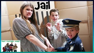 box fort jail escape room