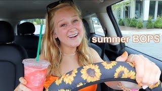 the ULTIMATE summer 2020 playlist + drive w me & karaoke