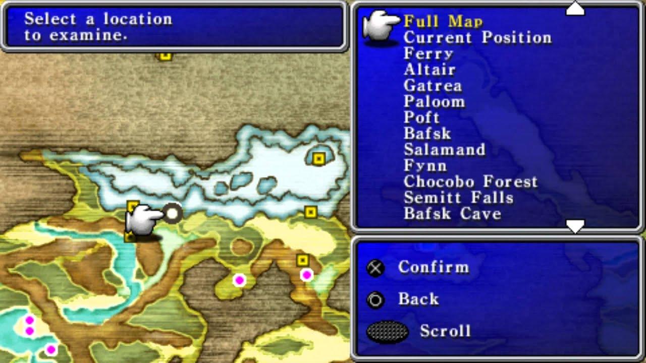 PSP] Final Fantasy II Anniversary Edition Прохождение / Walkthrough ...