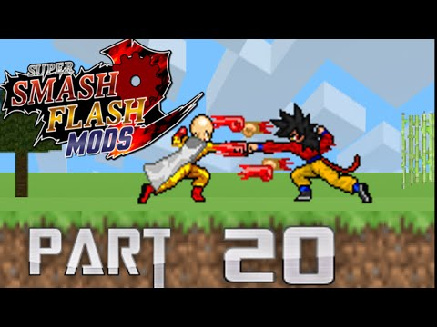 SSF2 MODS PART 20 One Punch Man,Fire Sonic,Mega Man x,SSJ4