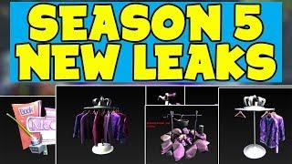 NEW Season 5 LEAKED Confirming The THEME & MORE! (Fortnite Season 5 Leaks)