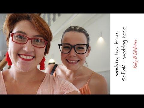 CouchTalk Wedding tips with amazing Sofia K the wedding hero