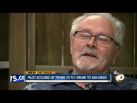 MORNING NEWS - Pilot Accused of Trying to Fly Drunk to San Diego