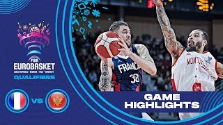 France v Montenegro - Highlights - FIBA EuroBasket 2021 - Qualifiers