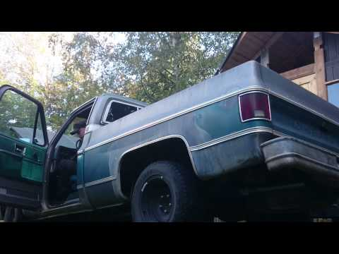 """1977 chevy c10 2.5"""" dual exhaust"""