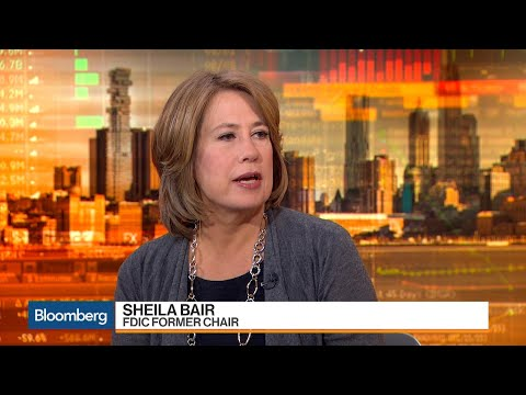 Sheila Bair Says She Supports Cutting Corporate Taxes