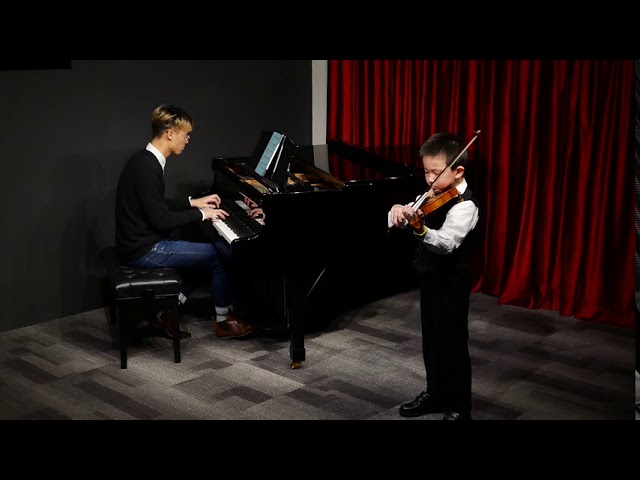 8yro Clancy played 'Prelude & Allegro' (CmusA) at The 5th Mini concert 2020