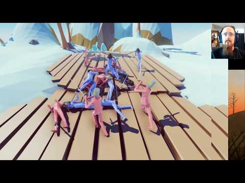 Recorded Livestream: Viking Lemmings! (Totally Accurate Battle Simulator)