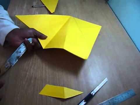 How To Make Christmas Paper Star Lantern