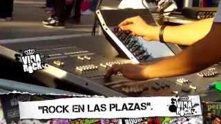 VIDA AL ROCK 2015 programa 7 (tercer bloque) Cobertura del ROCK EN LAS PLAZAS - DÍAS 1 y 2.