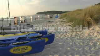Stock Footage Europe Germany Baltic Sea Beach Sunset Hiddensee Island Ostsee Strand Travel
