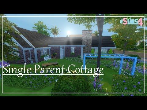 Sims 4 HOUSE BUILD || Single parent cottage