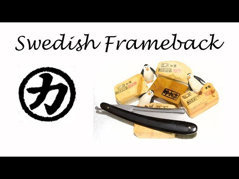 Honing a Swedish Frameback on a Jnat