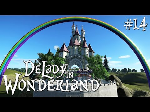 14. Planet Coaster: DeLady in Wonderland - Fairytale/Fantasy - Castle Amelie - Ep. 3
