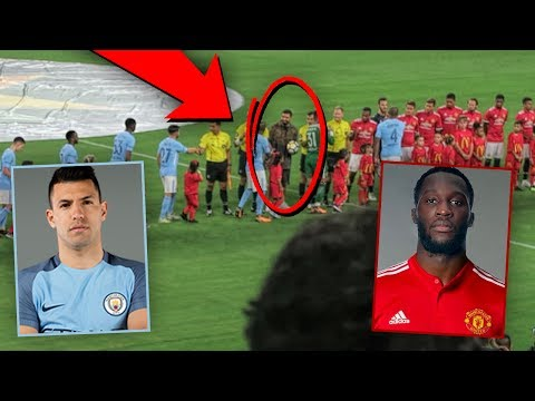 I GOT TO SEE AGUERO, LUKAKU, AND DRAKE! | Manchester City vs Manchester United
