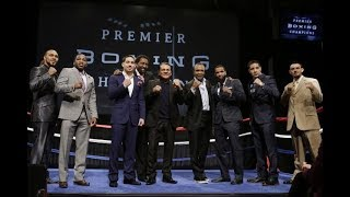 LIVE PRESS ANNOUNCEMENT FROM THE MGM NATIONAL HARBOR (GARY RUSSELL JR VS JO JO DIAZ)
