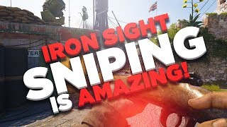 IRON SIGHT SNIPING IS AMAZING!