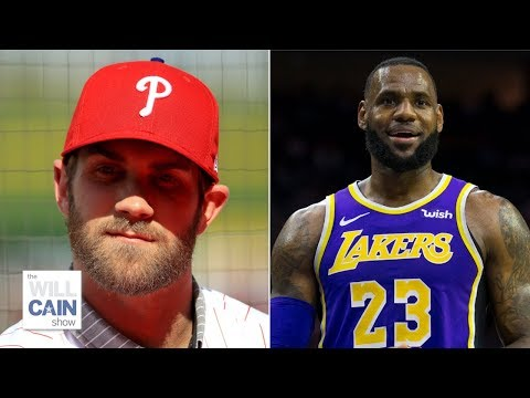Bryce Harper will never have the star power of LeBron James – Will Cain | Will Cain Show