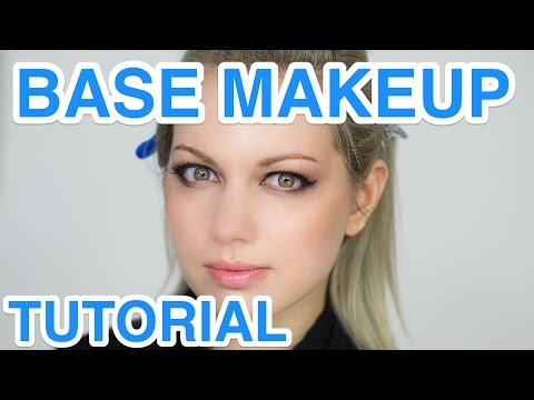 Base Makeup Tutorial by PROFESSIONAL MAKEUP ARTIST for Steam Punk | ヘアメイクのプロのベースメイク講座