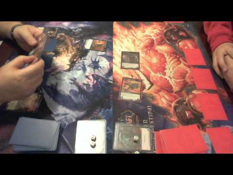 World Of Warcraft TCG Tutorial Game Play
