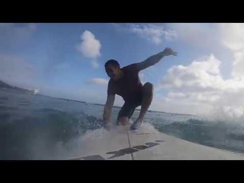 Jonathan Surfing Fails (Oahu 2018)
