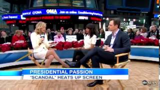 Scandal's Kerry Washington and Tony Goldwyn Stop By Good Morning America