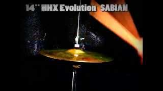 sabian hhx evolution 14 hi hats cymbal charleston
