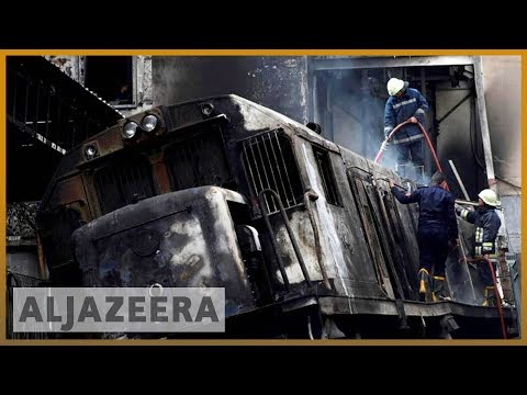 🇪🇬 Egypt: Dozens killed in crash and fire at Cairo train station | Al Jazeera English