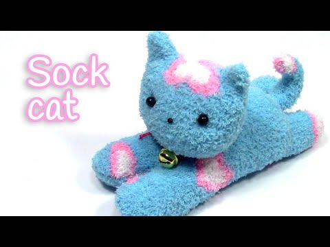 diy-crafts:-sock-cat---innova-crafts