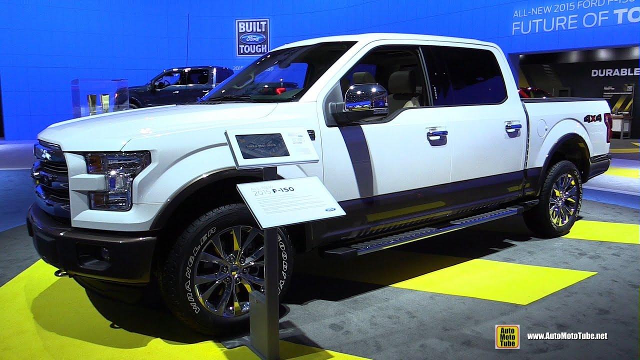 2015 ford f150 lariat exterior and interior walkaround 2014 la auto show youtube - 2014 Ford F150 Fx4 Interior