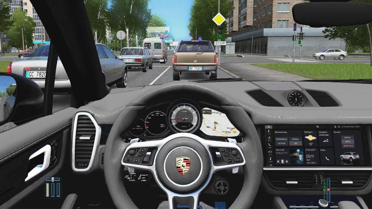 City Car Driving Porsche Cayenne S 2018 Fast