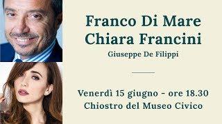 Franco Di Mare e Chiara Francini,