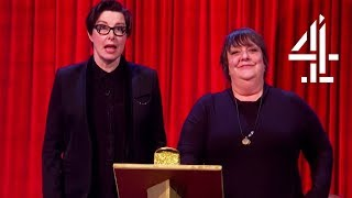 Sue Perkins & Kathy Burke Announce the Nominees for D**k of The Year Awards! | The Last Leg