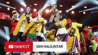 Gen Halilintar  Youtube Fanfest Jakarta 2018