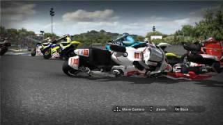 MotoGP 08 - Crash