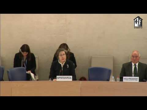 Ms. Yanghee Lee, UN Special Rapporteur's Statement on the Situation of Human Rights in Myanmar