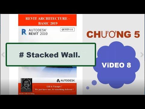 Revit Architecture 2020: Khóa Basic, Chương 05, Video 08.