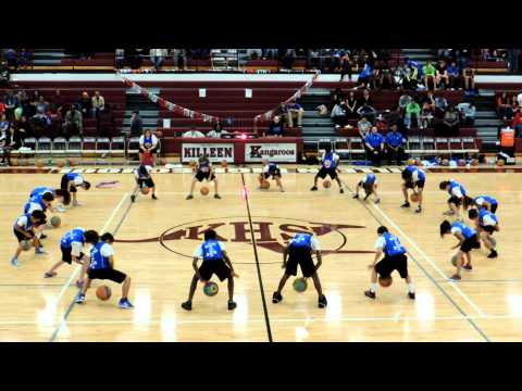 Peebles Elementary School Teams Of Tomorrow (TOTS) Halftime Show  Killeen, Texas 2-8-2013