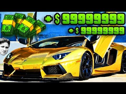 GTA 5 ONLINE - OMG BEST MONEY GLITCH EVER!!!!! FREE UNLIMITED MONEY!! (Parody)
