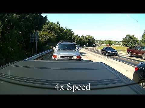 Dashcam - Overheated Toyota
